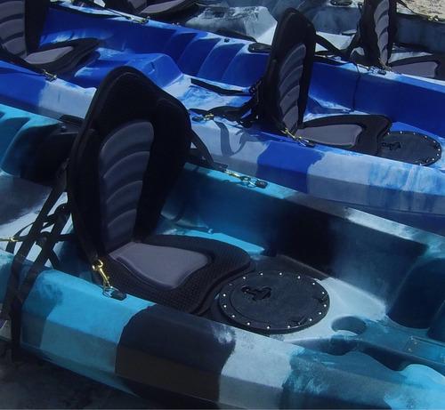kayak doble con remos y asientos incluidos