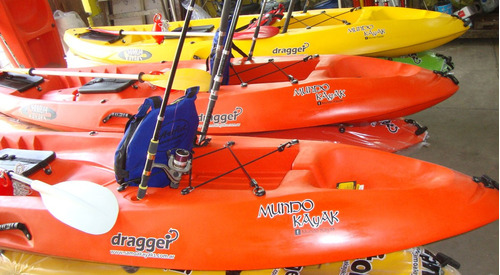kayak dragger