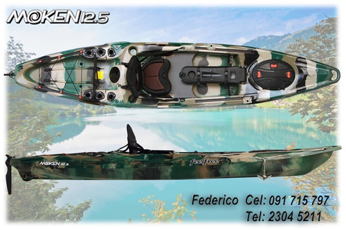 kayak feelfree - moken 12.5 pesca full