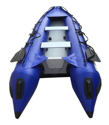 kayak / gomon inflable 2.50, 3.70 y 4.20 con espejo en popa