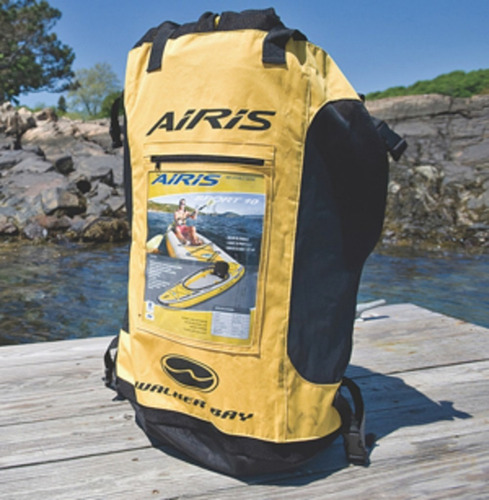 kayak inflable americano walker bay mochila inflador parches
