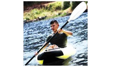 kayak inflable aqua marina modelo k0 - 1 persona ó single