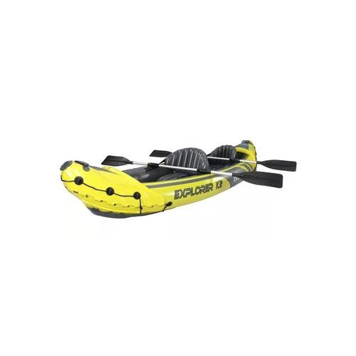 kayak inflable bote explorer k2 312x91x51cm intex 21588/8 mm