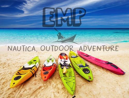 kayak k1 atlantikayak + remo + chaleco + asiento emp nautica