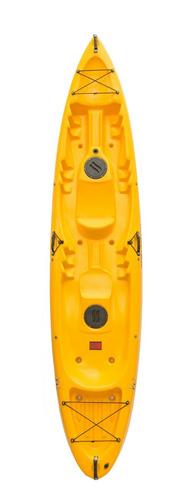 kayak kai3 doble triple  muy estable navega seco pesca !!
