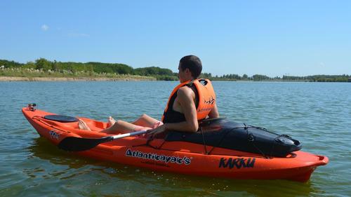 kayak karku de atlantikayak's c1 mar rio local envio gratis
