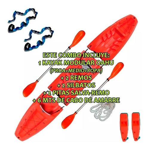 kayak modular doble oahu de sportkayaks c1 local palermo