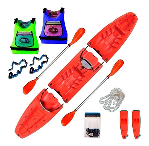 kayak modular doble oahu de sportkayaks c2 con envio gratis