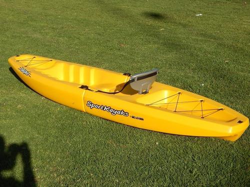 kayak modular simple oahu de sportkayaks c1 con envio gratis