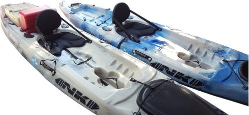 kayak nk nereo 360 con posacañas pesca travesia recreación