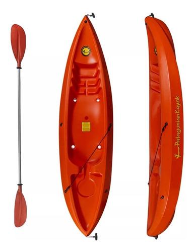kayak patagonian bravo 1 persona + 1 remos