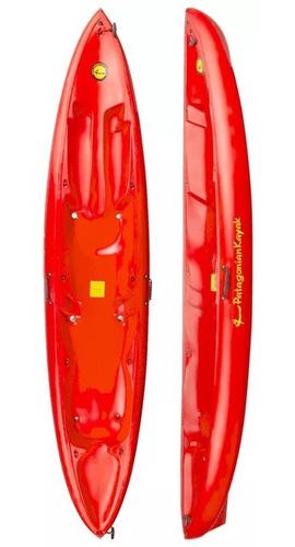 kayak patagonian delta 2 personas + 2 remos