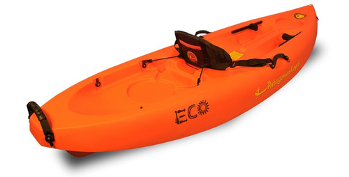 kayak patagonian eco single pesca recreacin mar + 1 remo