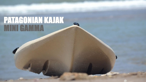 kayak patagonian mini gamma (modelo específico para pesca)