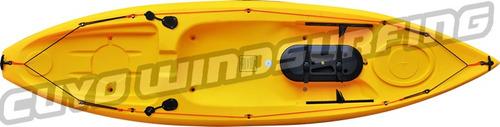 kayak patagonian mini gamma + remo pesca travesia 1 persona