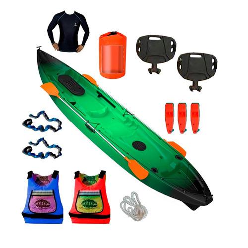 kayak ragnarok de skandynavian 3 personas combo 16 premium