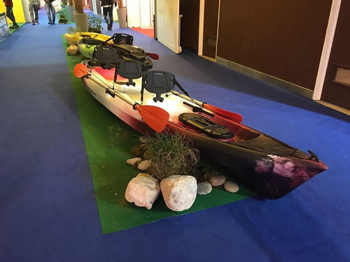 kayak ragnarok de skandynavian c10 para 3 pers local palermo
