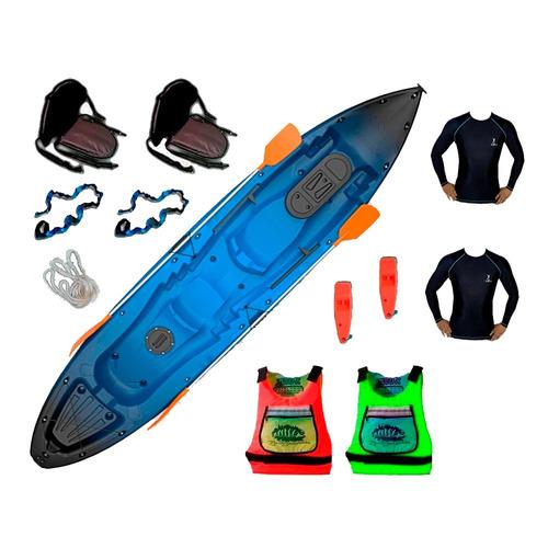 kayak ragnarok de skandynavian c15 para 3 pers