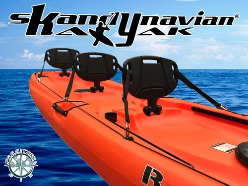 kayak ragnarok de skandynavian c3 para 3 personas en palermo