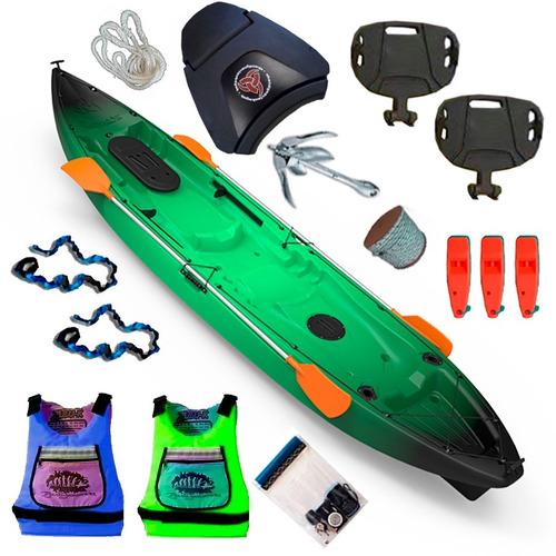 kayak ragnarok de skandynavian c8 para 3 pers local palermo