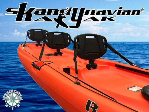 kayak ragnarok de skandynavian c9 para 3 pers local palermo