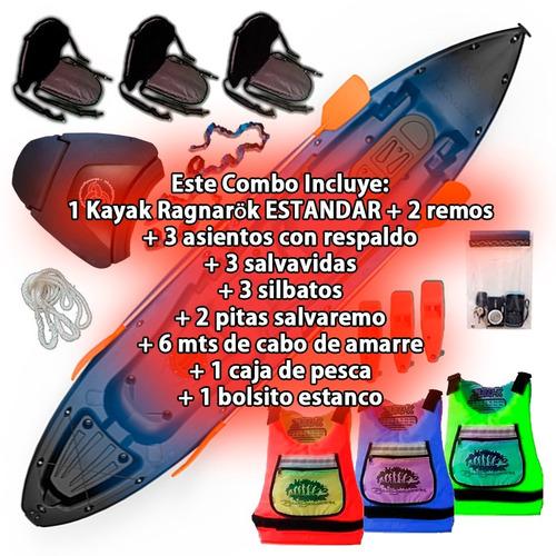 kayak ragnarok estandar de skandynavian c7 cuotas en palermo