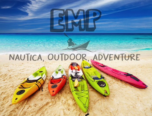 kayak raptor rk + remo + asiento + chaleco bolsa emp nautica