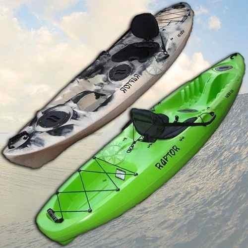 kayak rk raptor 1 persona c3 +remo + salvavidas palermo