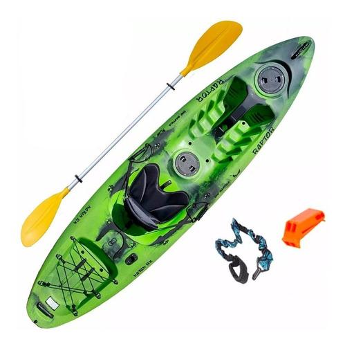 kayak rk raptor + accesorios c1 pesca palermo envio gratis