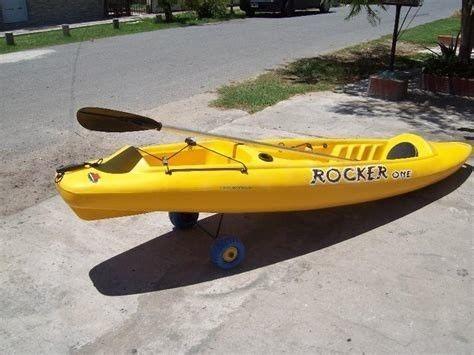 kayak rocker one c2 1 pers. con accesorios local free terra