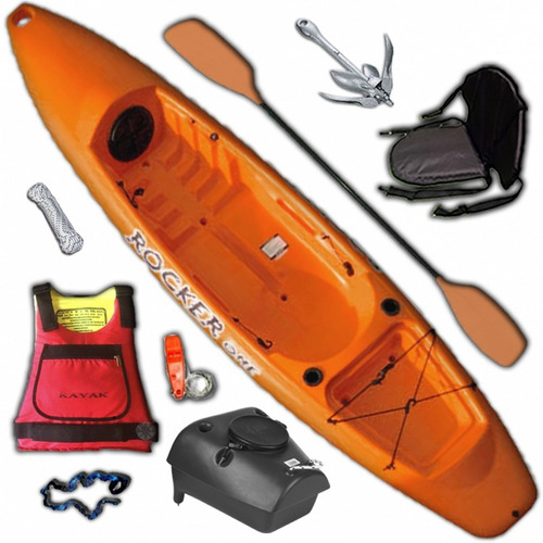 kayak rocker one c3 local, envios. free terra