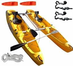 kayak rocker twin c/ remos