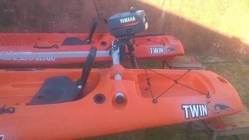 kayak rocker twin kit catamaran motor 2,6hp combo 11 premium