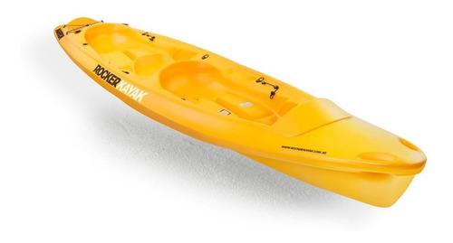 kayak rocker warrior 3 pers. c2 local. envio gratis!
