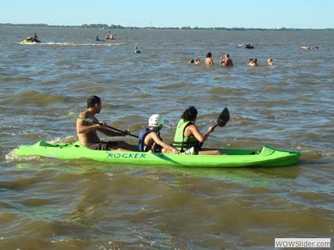 kayak rocker warrior 396010