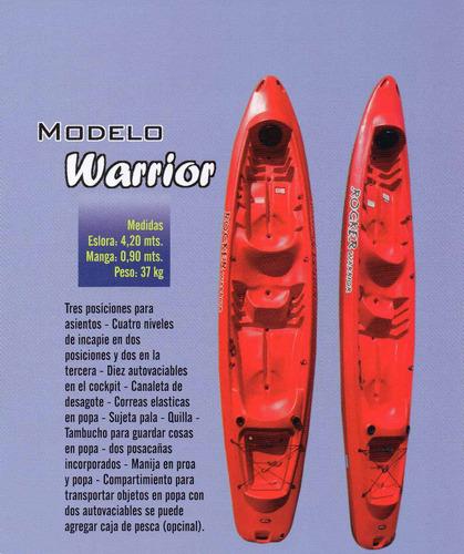 kayak rocker warrior.