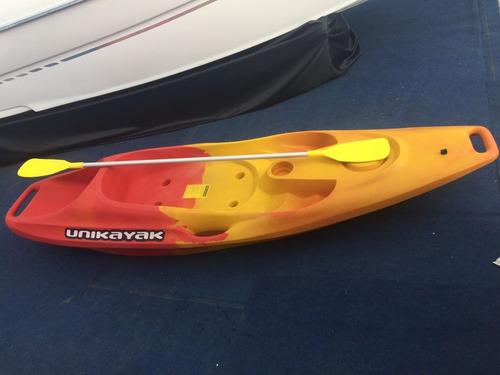 kayak rojo con amarillo o azul con blanco (nuevo)