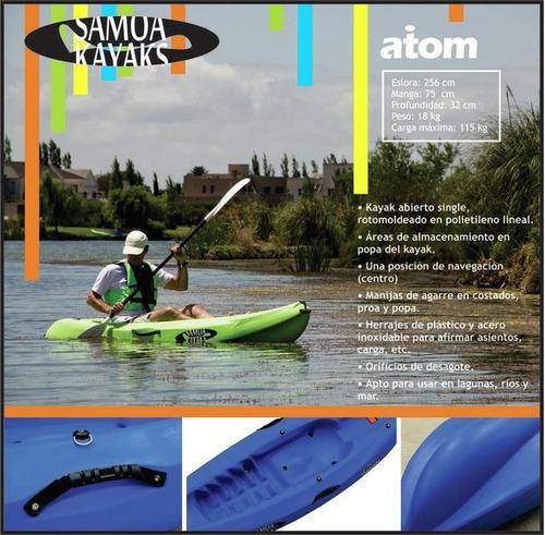 kayak samoa atom c7  free terra. rep. oficial. local caba