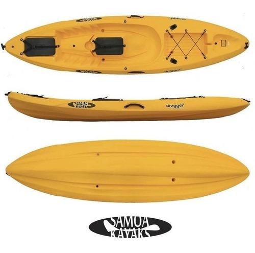 kayak samoa dragger pesca c1 rep. oficial. envio gratis!