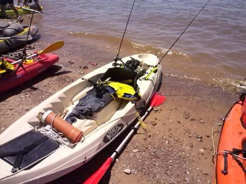 kayak samoa dragger pesca c2 rep. oficial. envio gratis!