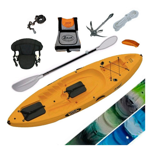 kayak samoa dragger pesca c3 1 pers. local en palermo