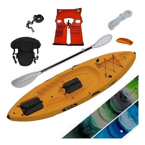 kayak samoa dragger pesca c5 1 pers. local palermo
