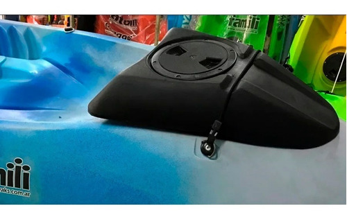 kayak samoa famili 3 pers c2 con caja de pesca envio gratis!