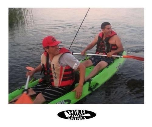 kayak samoa famili c3 para 3 personas local palermo