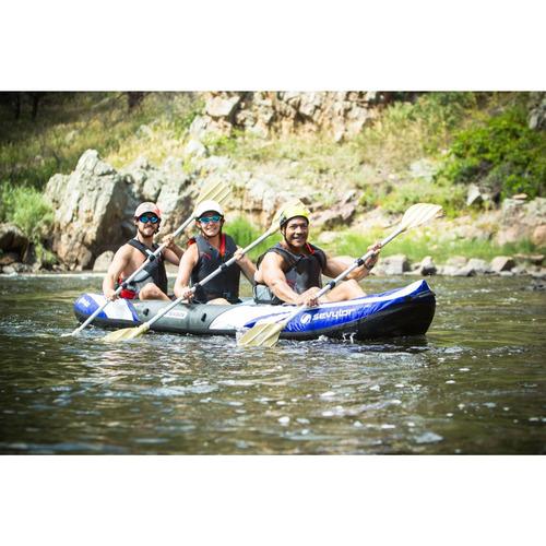 kayak sevylor big basin para 3 personas