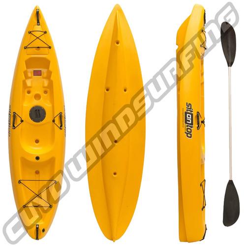 kayak sit on top iu pesca travesia liviano 1 persona 130 kg