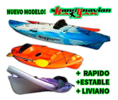 kayak skandynavian c1 aesir 1 pers. pesca mar local palermo