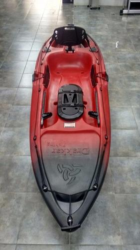 kayak skandynavian drakkar 1 persona fishing combo 2 premium