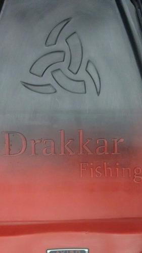 kayak skandynavian drakkar fishing c1 pesca local en palermo