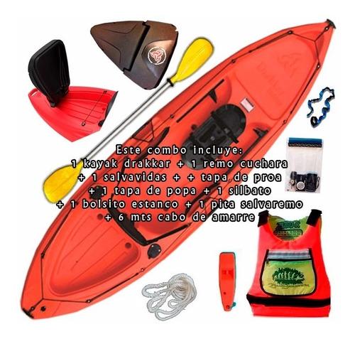 kayak skandynavian drakkar fishing c3 pesca local palermo